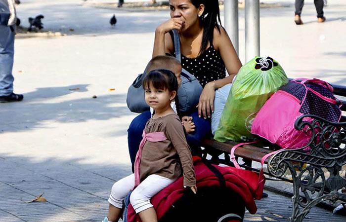Venezolanos en territorio boliviano. Foto: ABI.