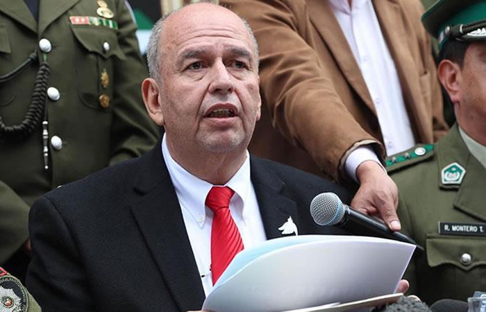 Ministro interino de Gobierno (Interior), Arturo Murillo en La Paz. Foto: EFE