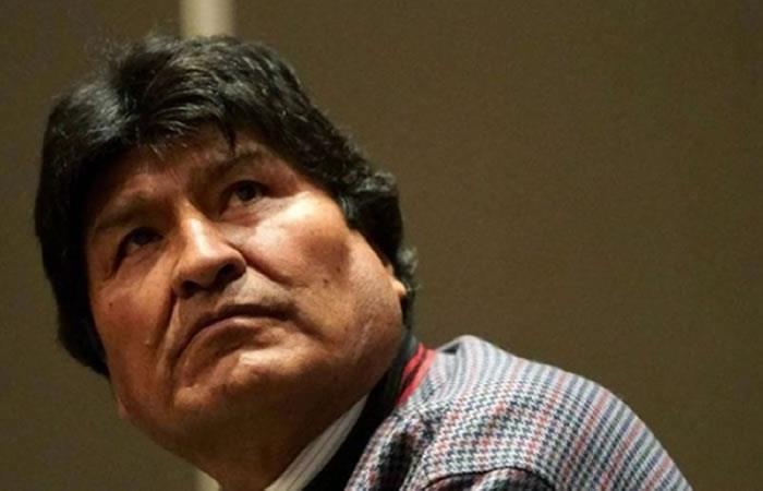 Piden a Morales mantener su posición de asilado. Foto: ABI