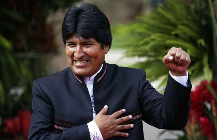 Evo Morales se encontraba asilado en Argentina. Foto: Twitter