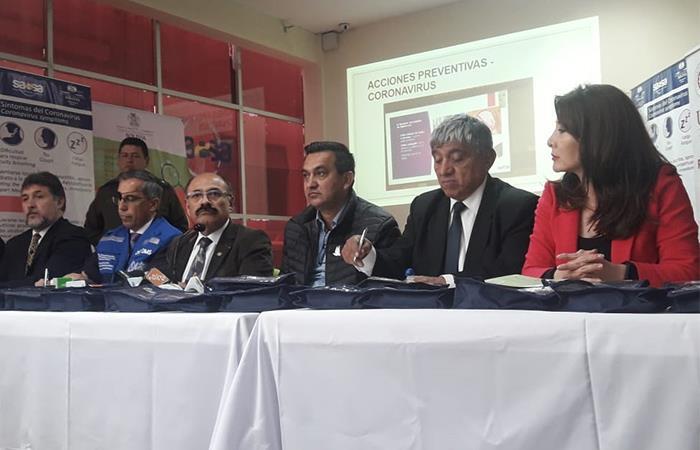 El Ministro de Salud confirmó que no hay casos de coronavirus en el país. Foto: ABI