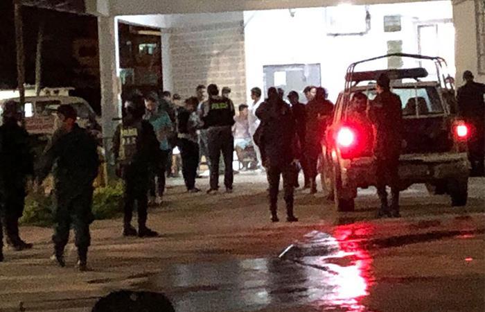 Más de dos decenas de reclusos resultaron heridos. Foto: ABI