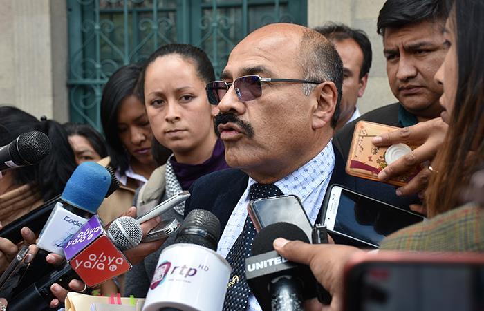 El Ministro de Salud confirmó cómo se actuará ante posibles casos de coronavirus. Foto: ABI