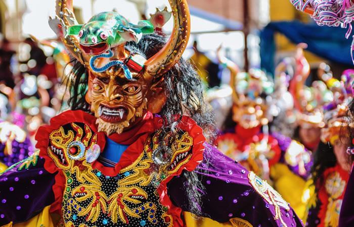 Queda poco para recibir al tradicional Carnaval de Oruro 2020. Foto: Shutterstock.