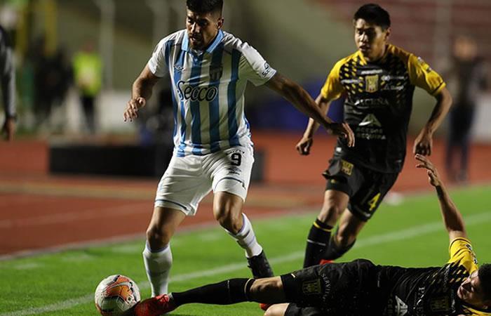 Victoria The Strongest ante Atlético Tucumán el pasado miércoles 5 de febrero. Foto: EFE.