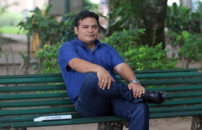Periodista boliviano Luis Fernando Soria. Foto: EFE.