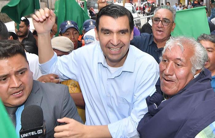 El alcalde José María Leyes logra libertad en el caso Mochila. Foto: EFE.