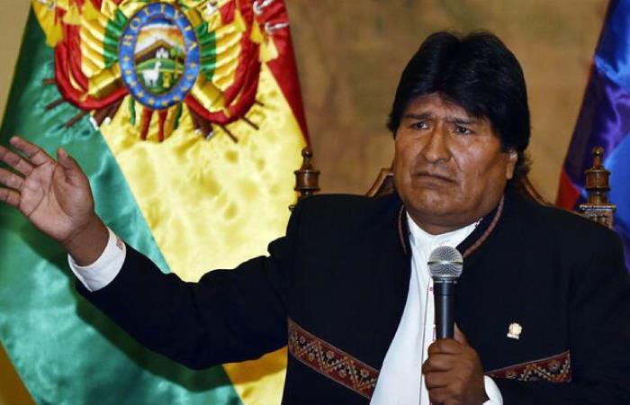 Morales es candidato como primer senador por el MAS. Foto: Twitter @MatiasERuiz