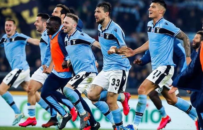 Lazio derrotó a Inter en el Olímpico de Roma - EFE