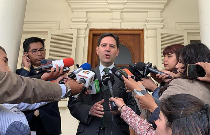 Presidente del Tribunal Supremo Electoral (TSE), Salvador Romero. Foto: ABI