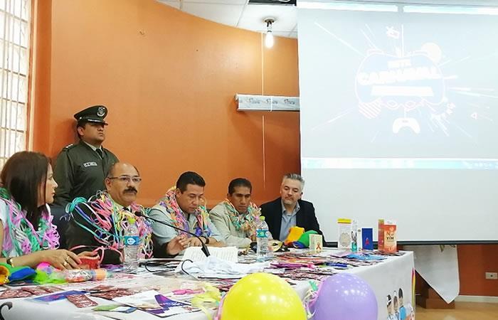 Ministerio de Salud presentó la campaña de prevención. Foto: ABI