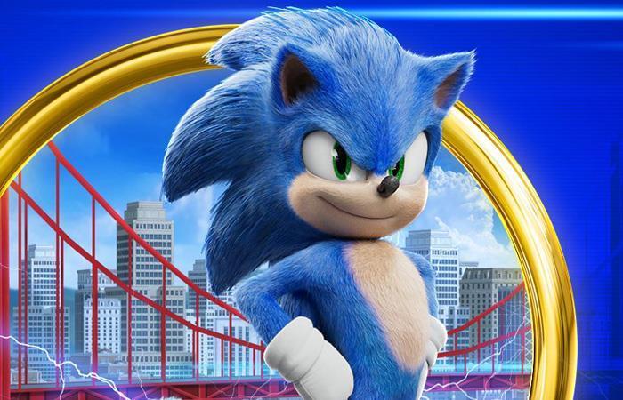 'Sonic' llegó para apropiarse de las taquillas. Foto: Twitter