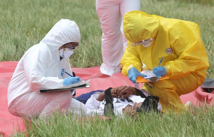 Medidas de prevención por el coronavirus. Foto: ABI.