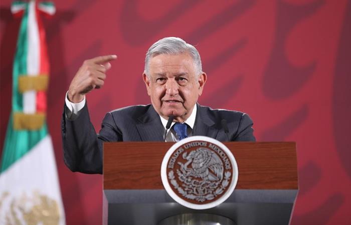 Presidente de México, Andrés Manuel López Obrador. Foto: EFE