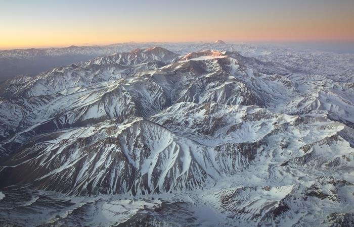 Estudio a la cordillera Andes. Foto:shutterstock