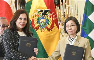 Bolivia y Japón suscriben acuerdo de donación para el fortalecimiento del sistema de salud