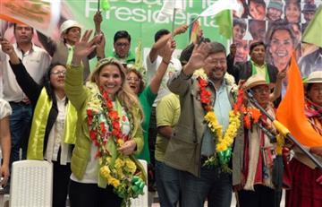 Presidenta Áñez se compromete a terminar con la violencia de género