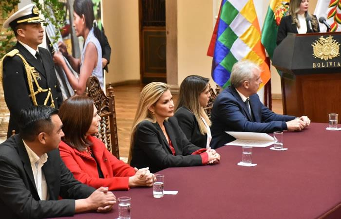 Corporación Andina de Fomento (CAF) para la lucha contra la violencia. Foto: ABI