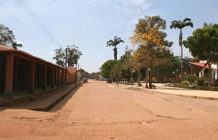 La población de Beni soporta elevadas temperaturas que oscilan entre 32 y 37°C bajo la sombra. Foto: ABI