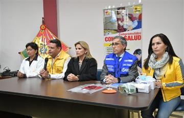 Presidenta Áñez inspecciona en La Paz el primer hospital para atender a pacientes con coronavirus