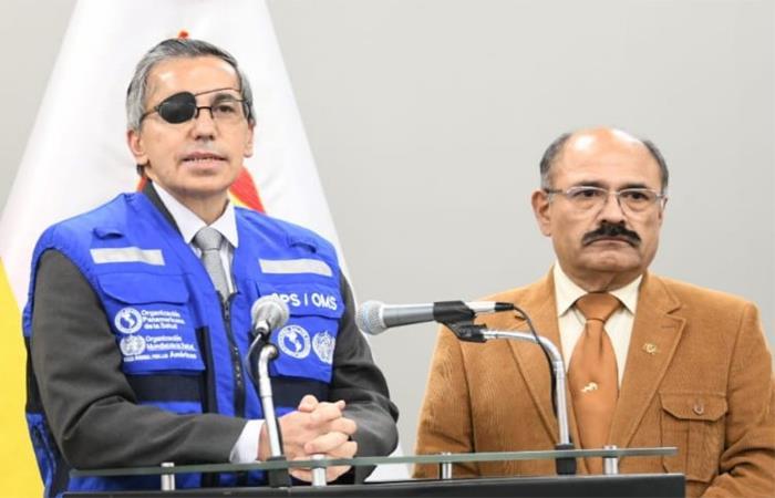 Bolivia aumenta casos de COVID-19. Foto: Twitter @MinSaludBolivia