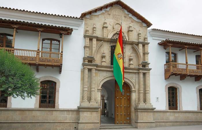 En Sucre suspendieron la agenda turística. Foto: ABI