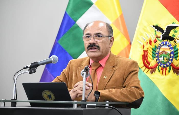Ministro de Salud, Aníbal Cruz. Foto: ABI