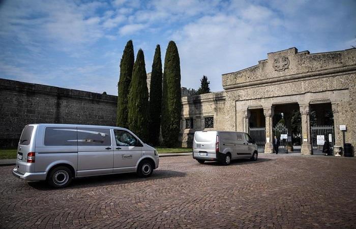 Situción preocupante en Italia por el COVID-19. Foto: EFE