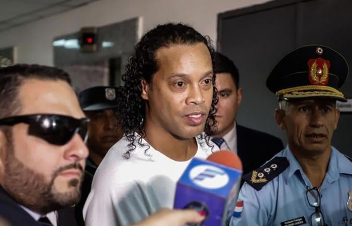 Este 21 de marzo, Ronaldinho pasará su cumpleaños en la cárcel. Foto: EFE