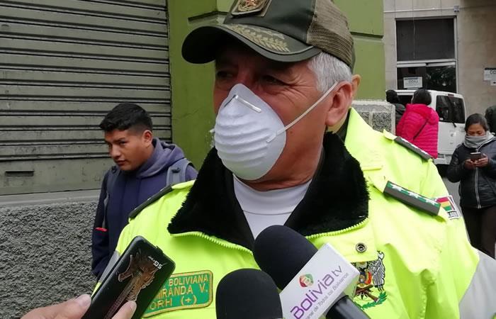 Director nacional de Tránsito, Walter Miranda. Foto: ABI