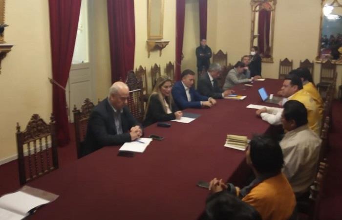 Bolivia coordina medidas ante el  coronavirus. Foto: ABI