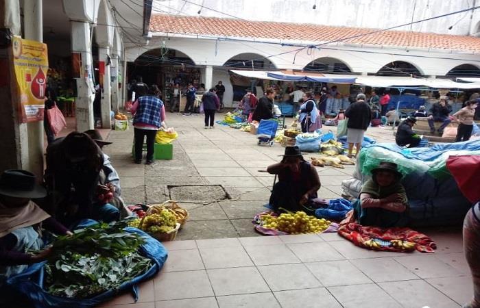 Nuevas medidas en supermercados por parte del Gobierno Autónomo de Sucre. Foto: ABI