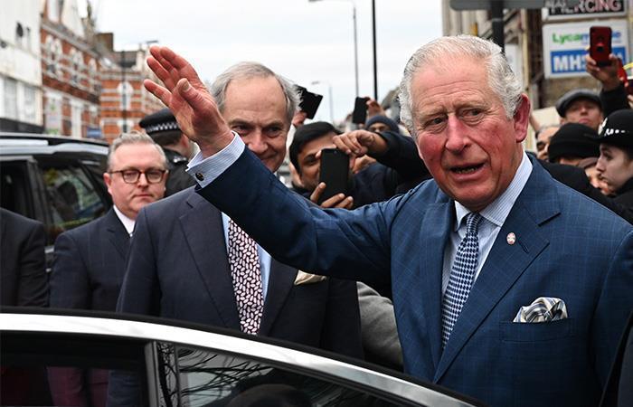 Príncipe Carlos, heredero de la corona británica. Foto: EFE