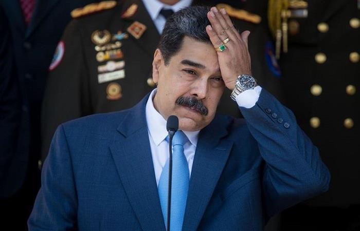 Estados Unidos ofrece recompensa por Nicolás Maduro. Foto: EFE