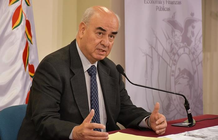 Ministro de Economía, José Luis Parada. Foto: ABI