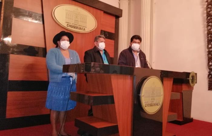 Servicio Departamental de Salud (Sedes). Foto: ABI.