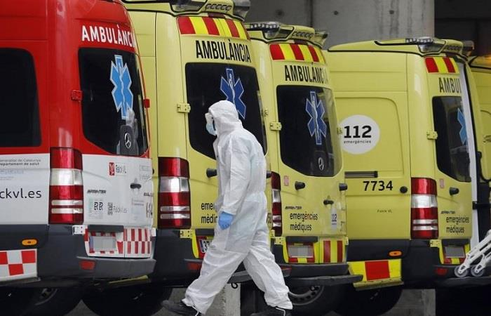 España y sus víctimas letales por el coronavirus. Foto: EFE