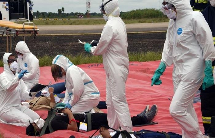 Bolivia combate el coronavirus, bajo protocolos. Foto: ABI