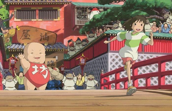 'El Viaje Chihiro' gran flim japones. Foto: Twitter