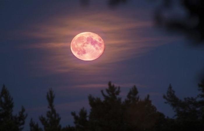 La 'Superluna' podrá ser visible desde cualquier parte del mundo. Foto: Twitter