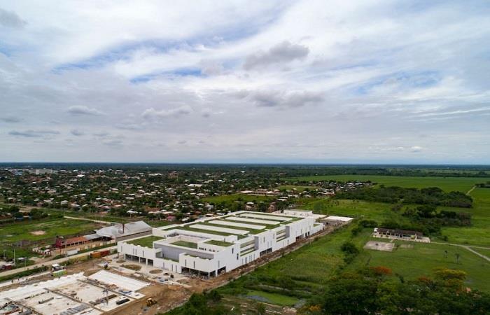Encapsulan ciudad de Montero por propagación COVID-19. Foto: Twitter @PMMT_ARQ
