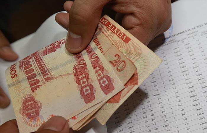 Medidas sociales y de apoyo económico para mitigar los efectos de la cuarentena. Foto: ABI