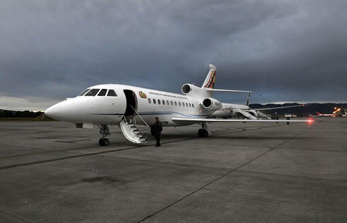 Avión presidencial de Jeanine Áñez. Foto: ABI