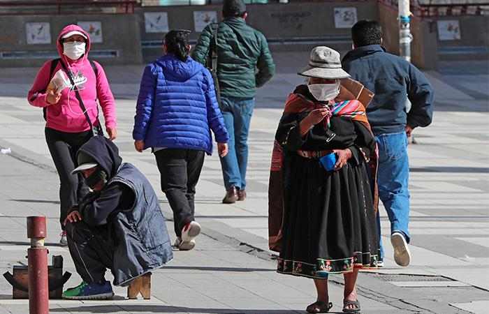 Bolivia extendió la cuarentena hasta el 30 de abril. Foto: EFE