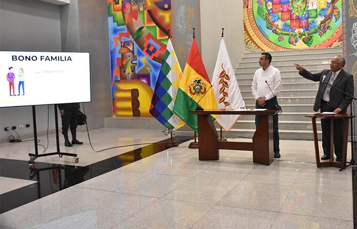 Bolivia inició las ayudas a su población en medio de la pandemia de COVID-19. Foto: ABI
