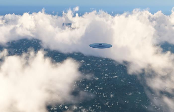 Avistamiento de naves extraterrestres. Foto: Shutterstock