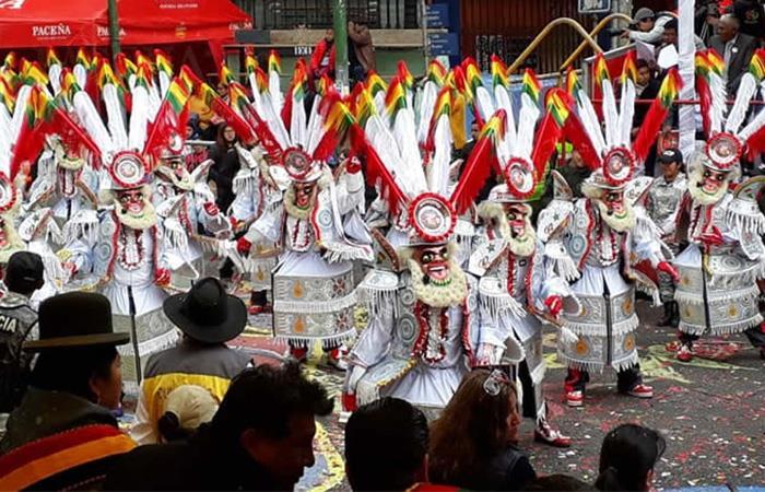La fiesta del Gran Poder no se podrá celebrar por el COVID-19. Foto: Twitter @abi_bolivia