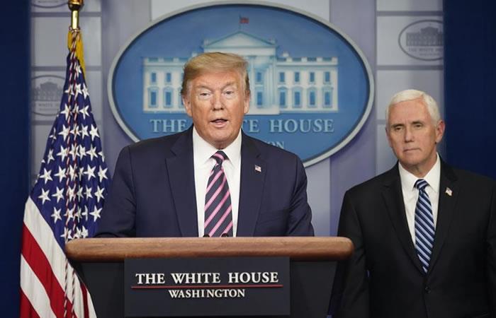Presidente de Estados Unidos, Donald Trump. Foto: EFE.