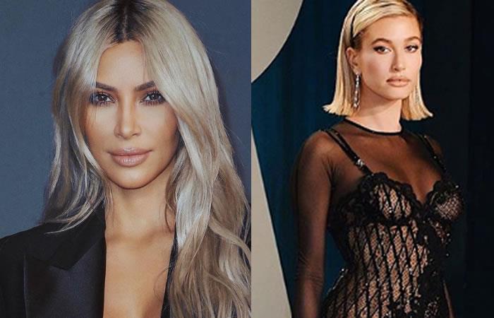 Kim Kardashian y Hailey Bieber apoyando a los más necesitados. Foto: Instagram @kimkardashian y @haileybieber