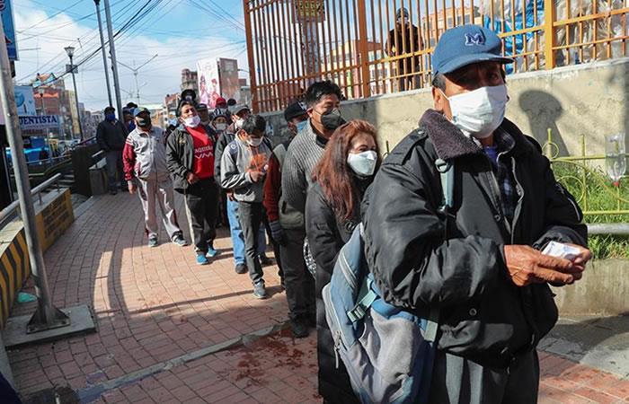 El coronavirus podría terminar en septiembre en Bolivia. Foto: EFE.
